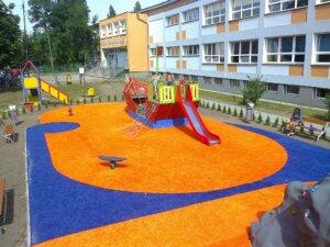 Plac Zabaw - dwukolorowy