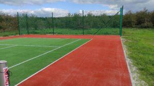 Kort tenisowy ze sztuczną trawą z ITF